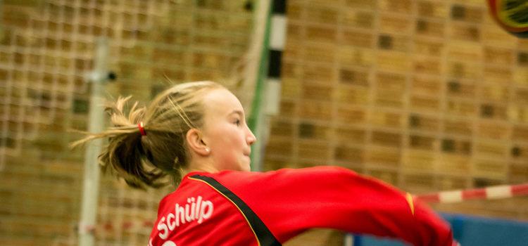 Die weibliche U14 eröffnet das Faustballjahr 2014
