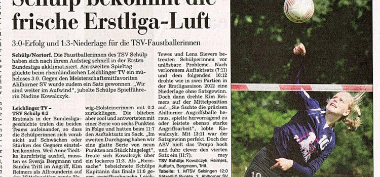 Pressespiegel zum letzten Bundesligaspieltag