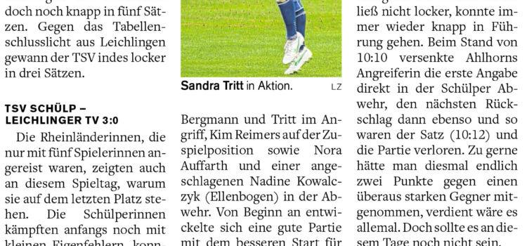 Pressenachberichte 1. Bundesliga
