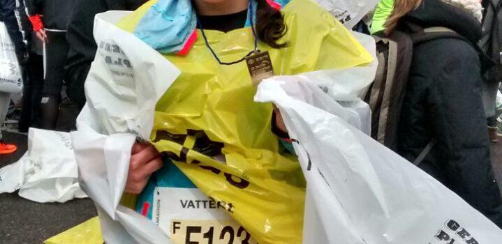 Yasmin mit guter Zeit beim Berliner Halbmarathon