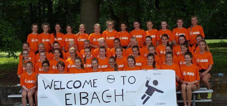 Nationallehrgang der weiblichen U13-U15 – mit Schülper Beteiligung