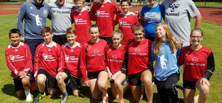 Weibliche U14 krönt Saison mit weiterem Titel
