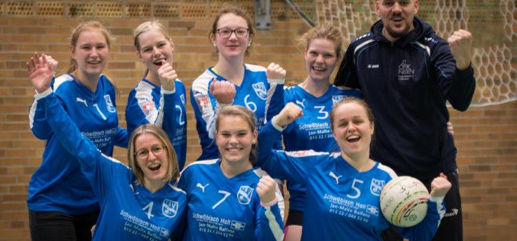 Erster Heimspieltag in der Bundesliga: Schülper Damen punkten