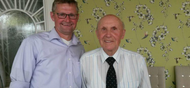90. Geburtstag von Paul Trinker